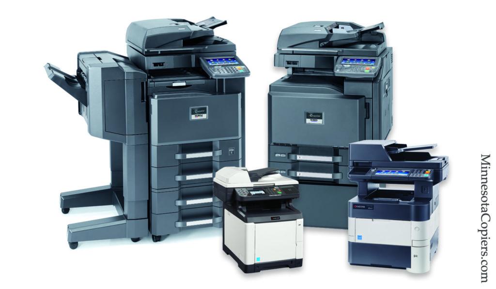 copier sales lease rentals Blaine MN
